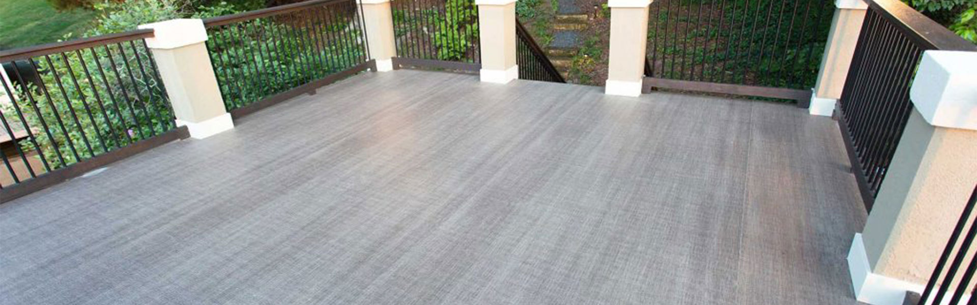 Image showing Duradek products and decking in a vinyl deck