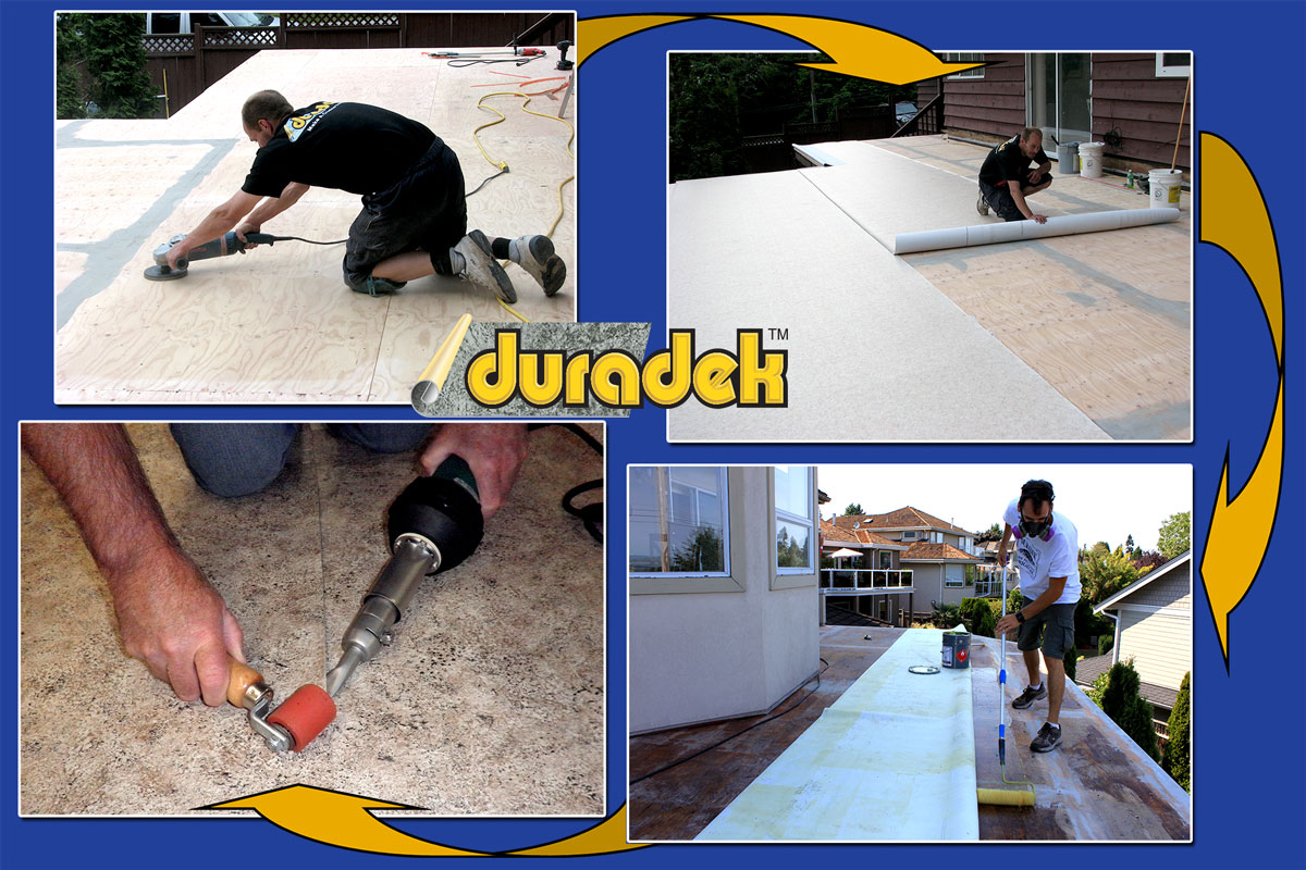 Image showing Duradek products and decking in comparison