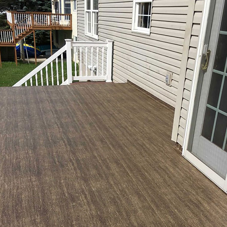 Image showing Duradek products and decking on a Patio