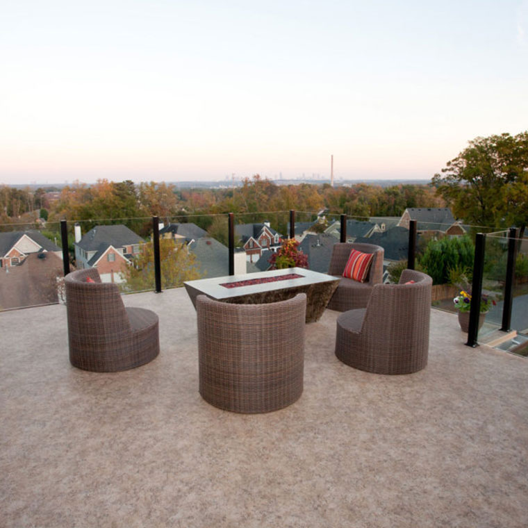Image showing Duradek products and decking on a rooftop