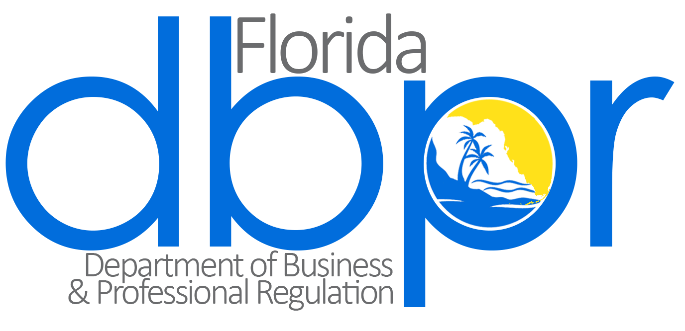 Image of Florida Depart of Business and Professional Regulation logo